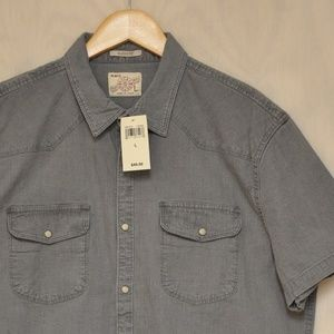Lucky Brand Snap Shirt Classic Fit L